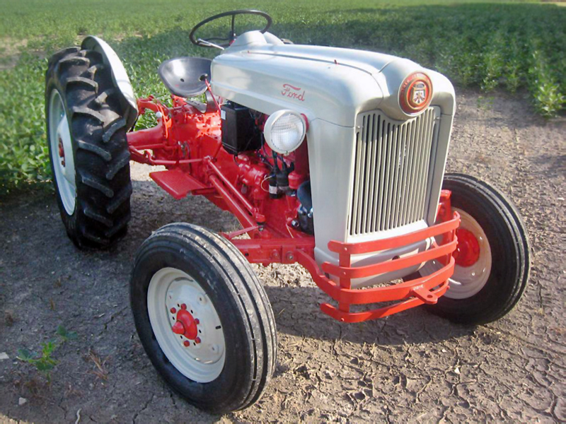 Golden Jubilee: 1953 Ford NAA Tractor