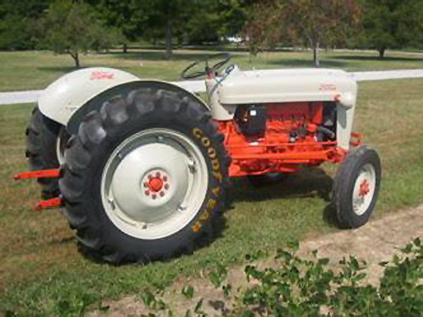 Ford Jubilee Specifications : Golden jubilee ford naa tractor