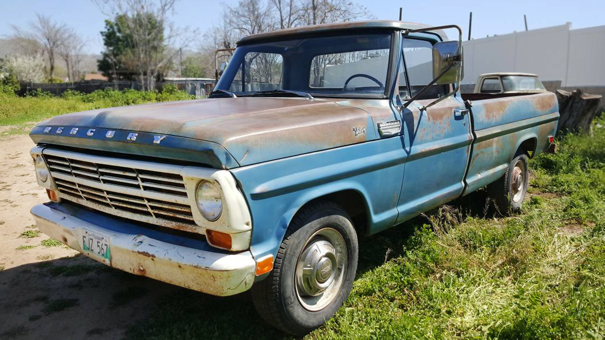 1968 Ford F100 For Sale Craigslist >> Canuck Truck 1968 Mercury M 250 Pickup