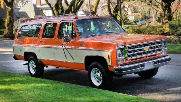 Chevy Suburban Seating >> Sweet Silverado: 1977 Chevrolet K20 Suburban