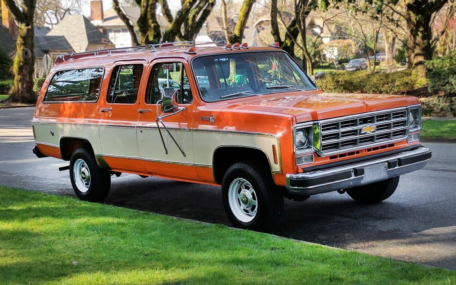 2017 Chevy Silverado >> Sweet Silverado: 1977 Chevrolet K20 Suburban