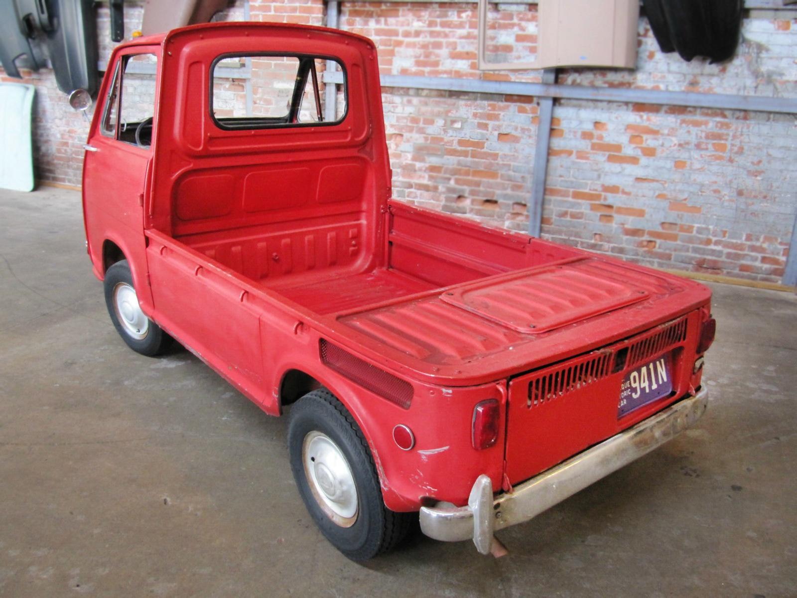 Puny Pickup Project: 1969 Subaru Sambar