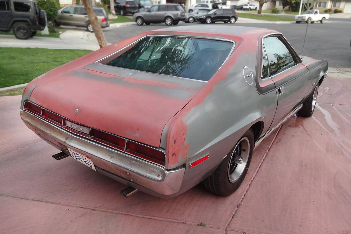 Two Seat Project 1970 Amc Amx
