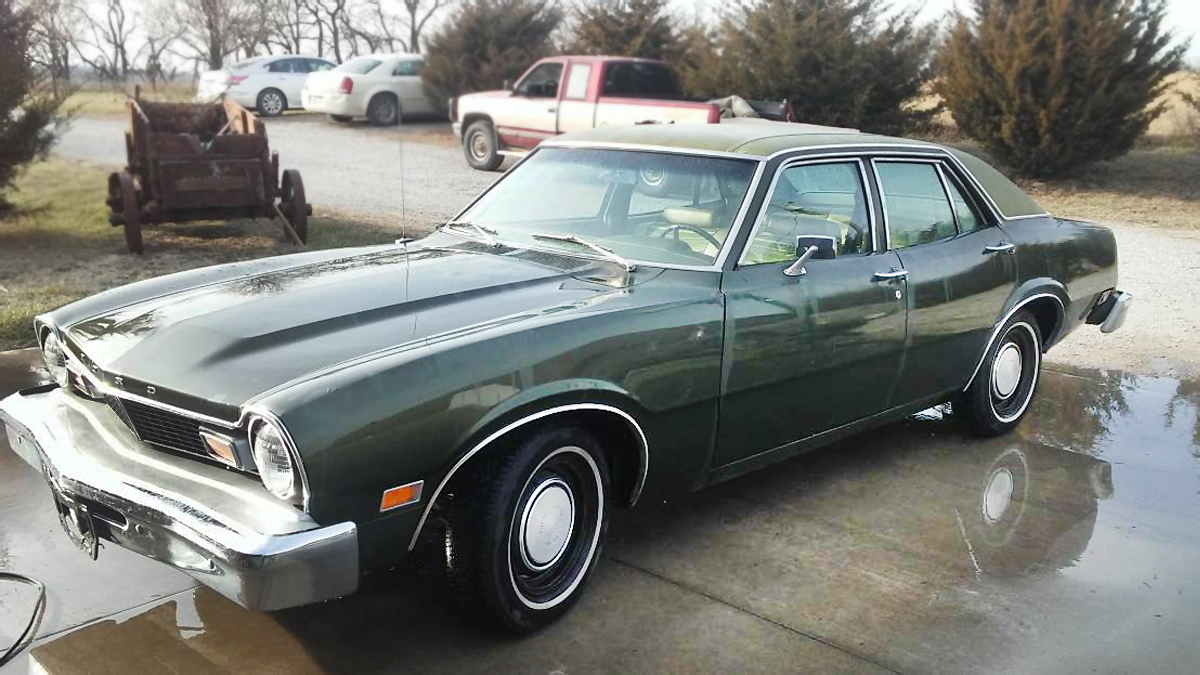Green With Envy: 1976 Ford Maverick