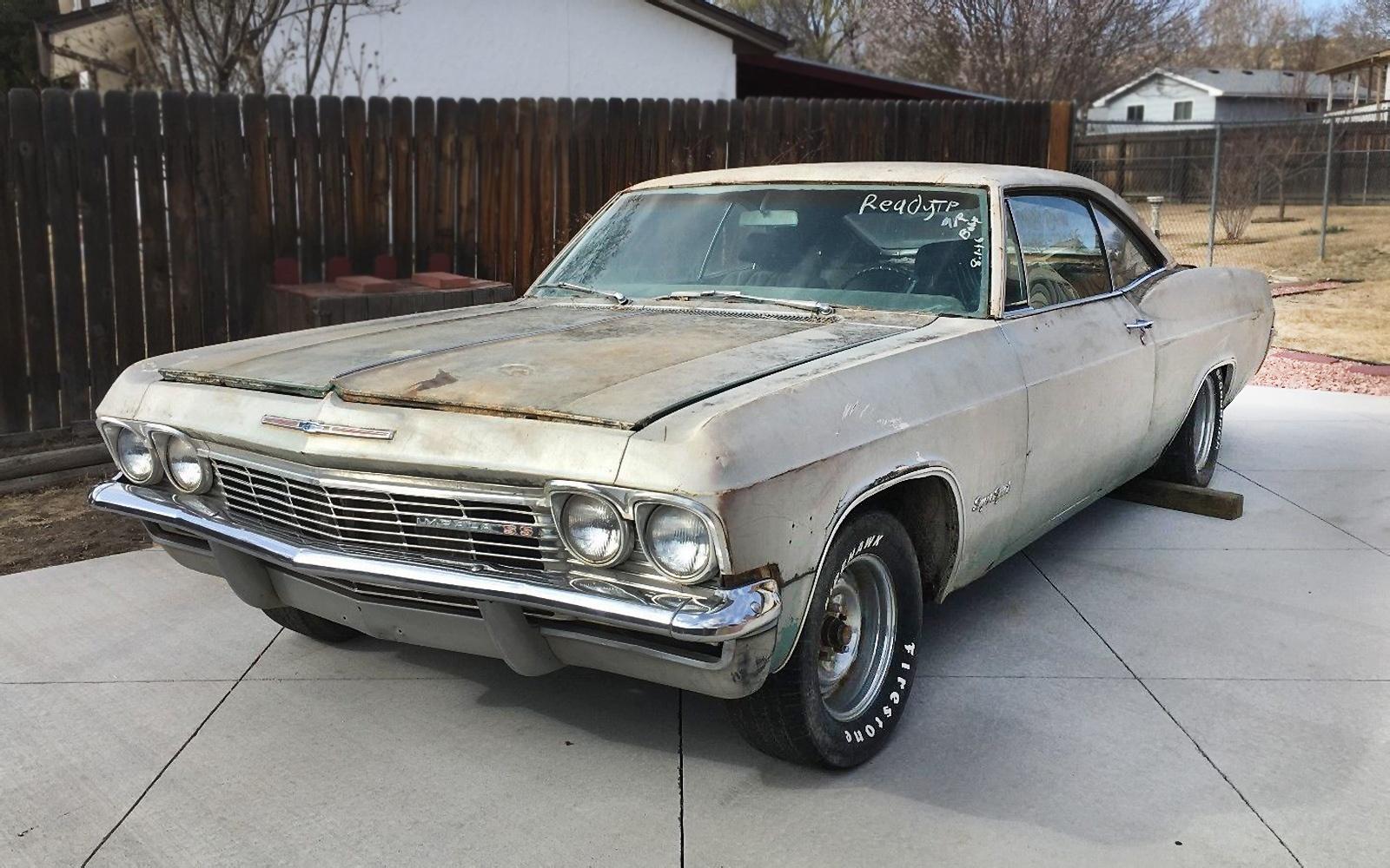 396 4 Speed 1965 Chevrolet Impala Ss