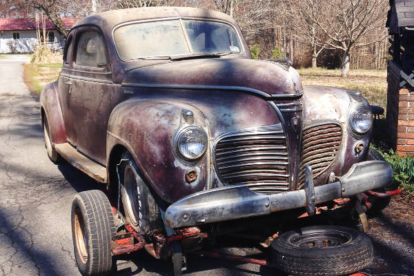 EXCLUSIVE: 1941 Plymouth Deluxe Business Coupe ($1k Price Drop)