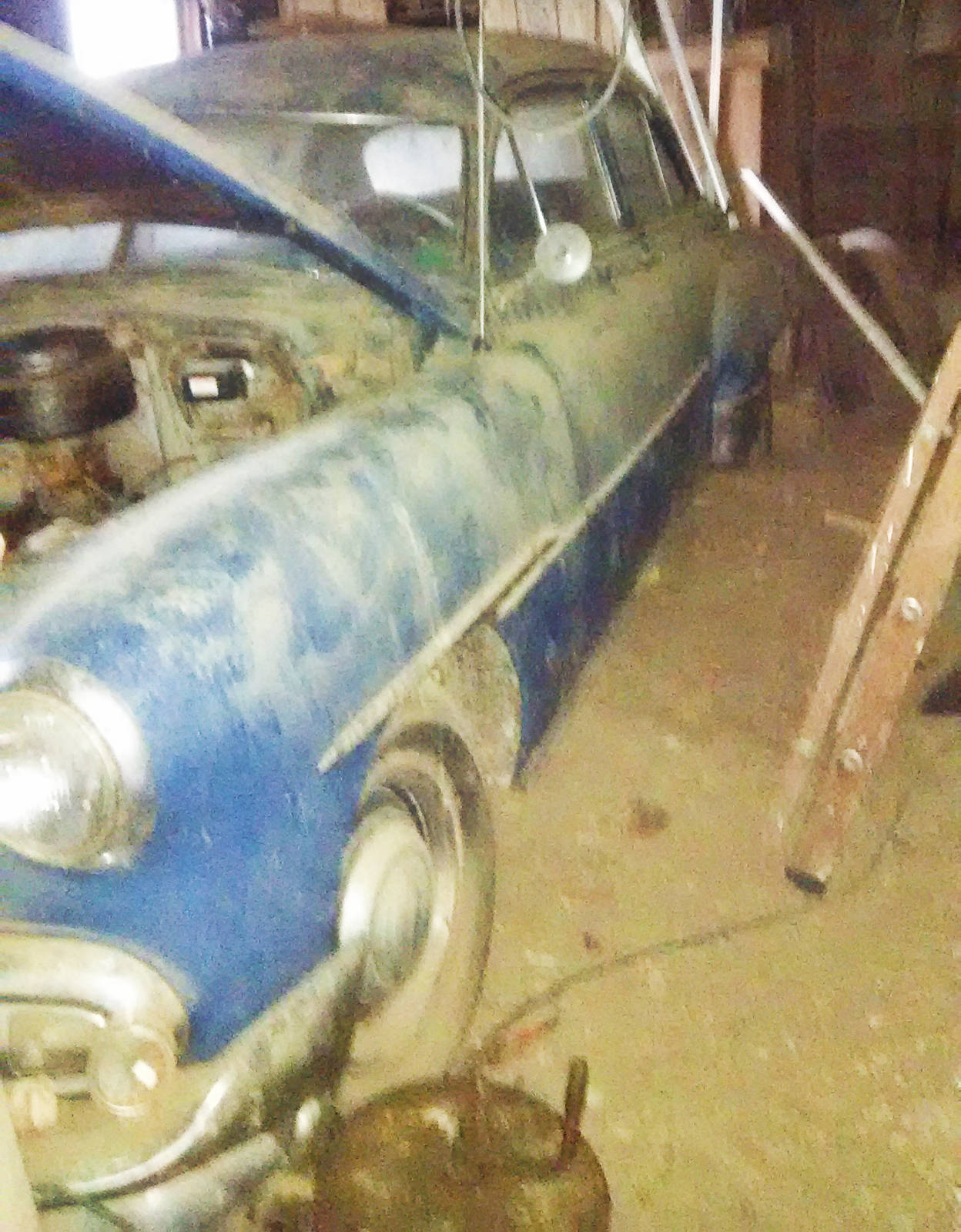 Exclusive 1951 Chevrolet 4 Door Deluxe 2 She Does Not Want The Car To Go Salvage And Turned Down A 500 Offer Allens Should Good Home It Comes With Lot Of Original