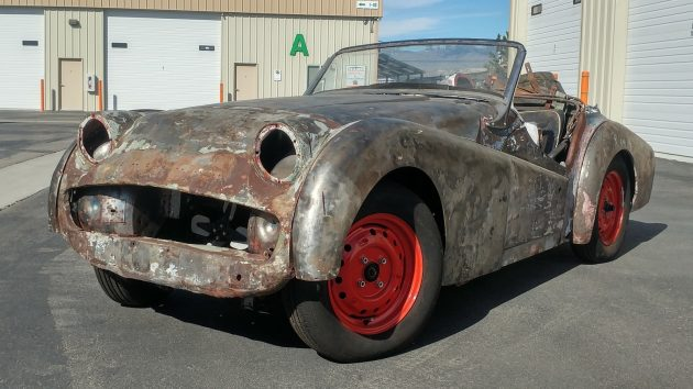 EXCLUSIVE: Our 1958 Triumph TR3 Project