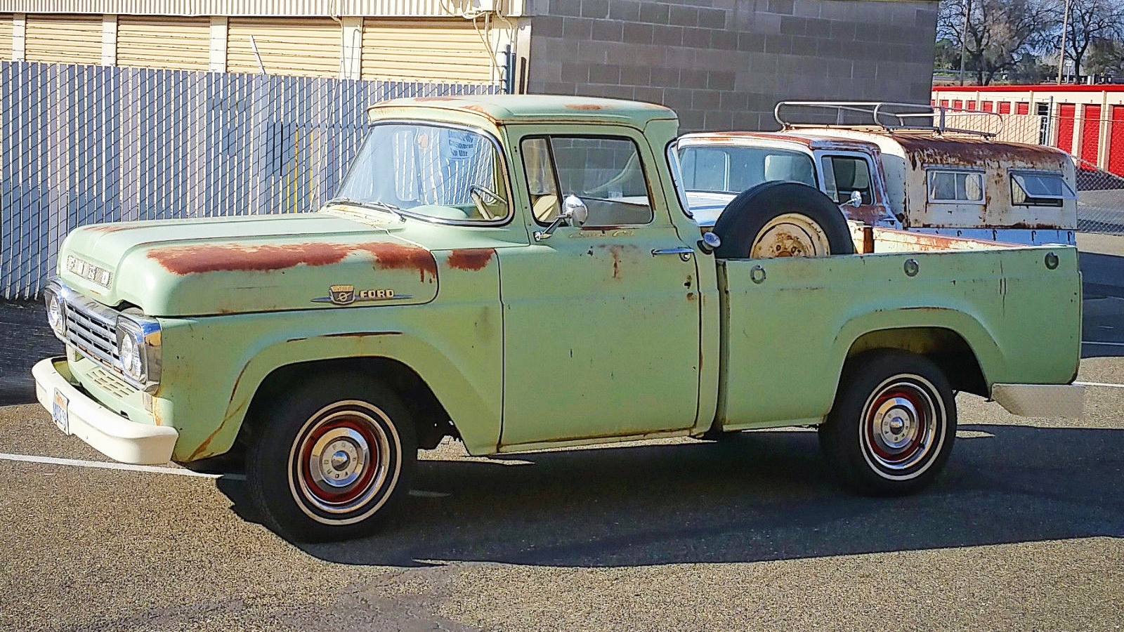 Big Window Short Bed 1959 Ford F 100