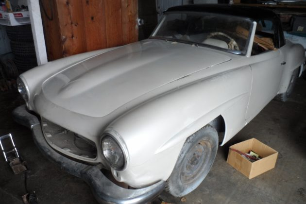 EXCLUSIVE: Two Mercedes 190SL Projects