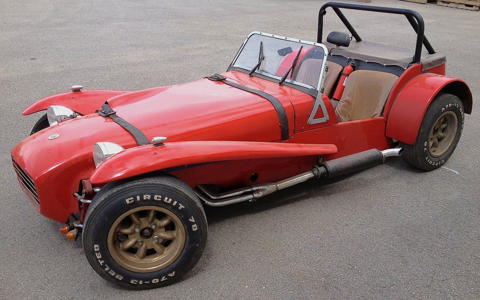 Stupid Fast 1963 Lotus Seven Twin Cam