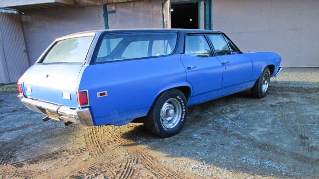 EXCLUSIVE: 1969 Chevrolet Chevelle 454 Wagon!