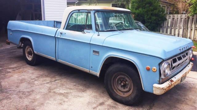 EXCLUSIVE: 1969 Dodge D200 Camper Special