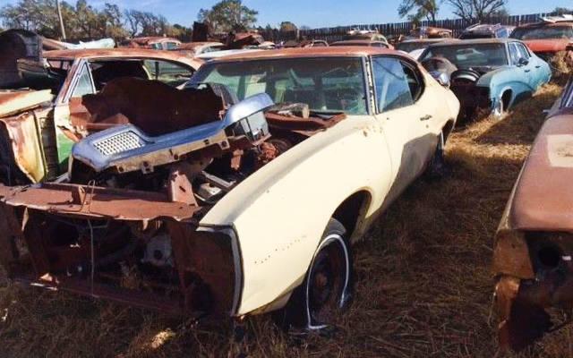 Buick And Pontiac Salvage Yard Liquidation!