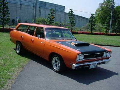 Road Runner Wagon 1969 Plymouth Satellite
