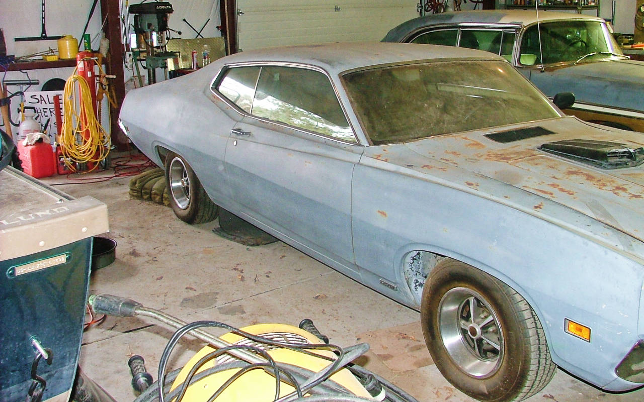 Exclusive 1970 Ford Torino 429 Cobra Jet Gt Fastback I Know What Your Thinking 20k Is A Lot Of Money For Tornio Project But Remember They Didnt Build Many Powered Torinos Nice 429s