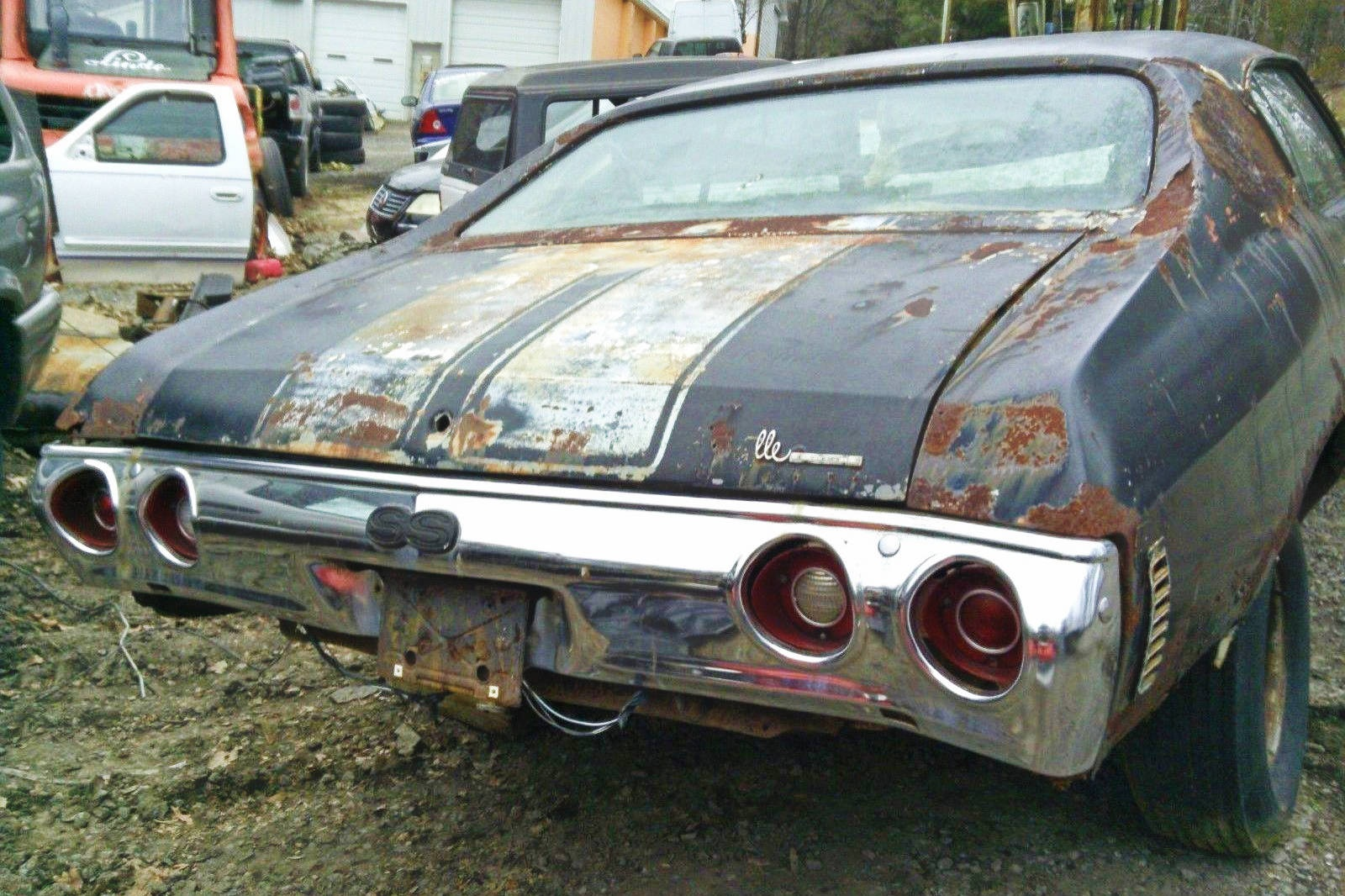 Chevelle Ss >> No Reserve 1972 Chevelle SS 402 Project