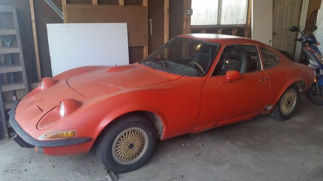 Home Reno Forces Sale: 1973 Opel GT