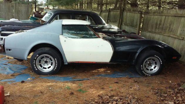 EXCLUSIVE: 1975 Chevrolet Corvette Project