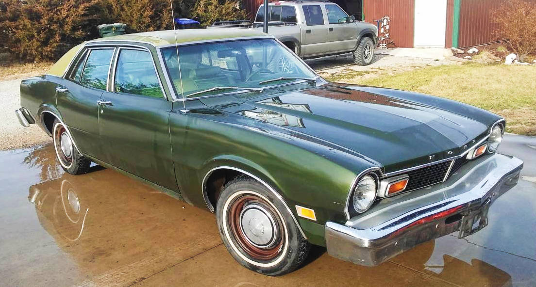 Green With Envy 1976 Ford Maverick