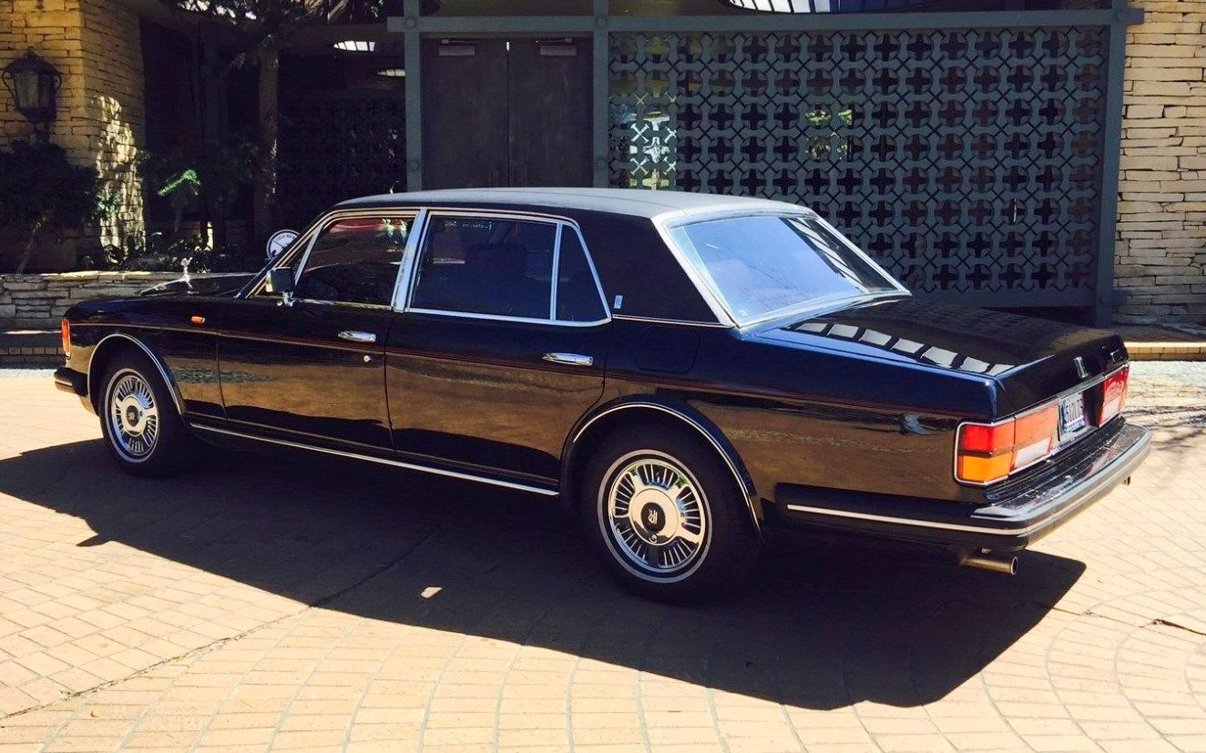 What To Do With Old Car Seats >> Old Money: 1985 Rolls-Royce Silver Spur