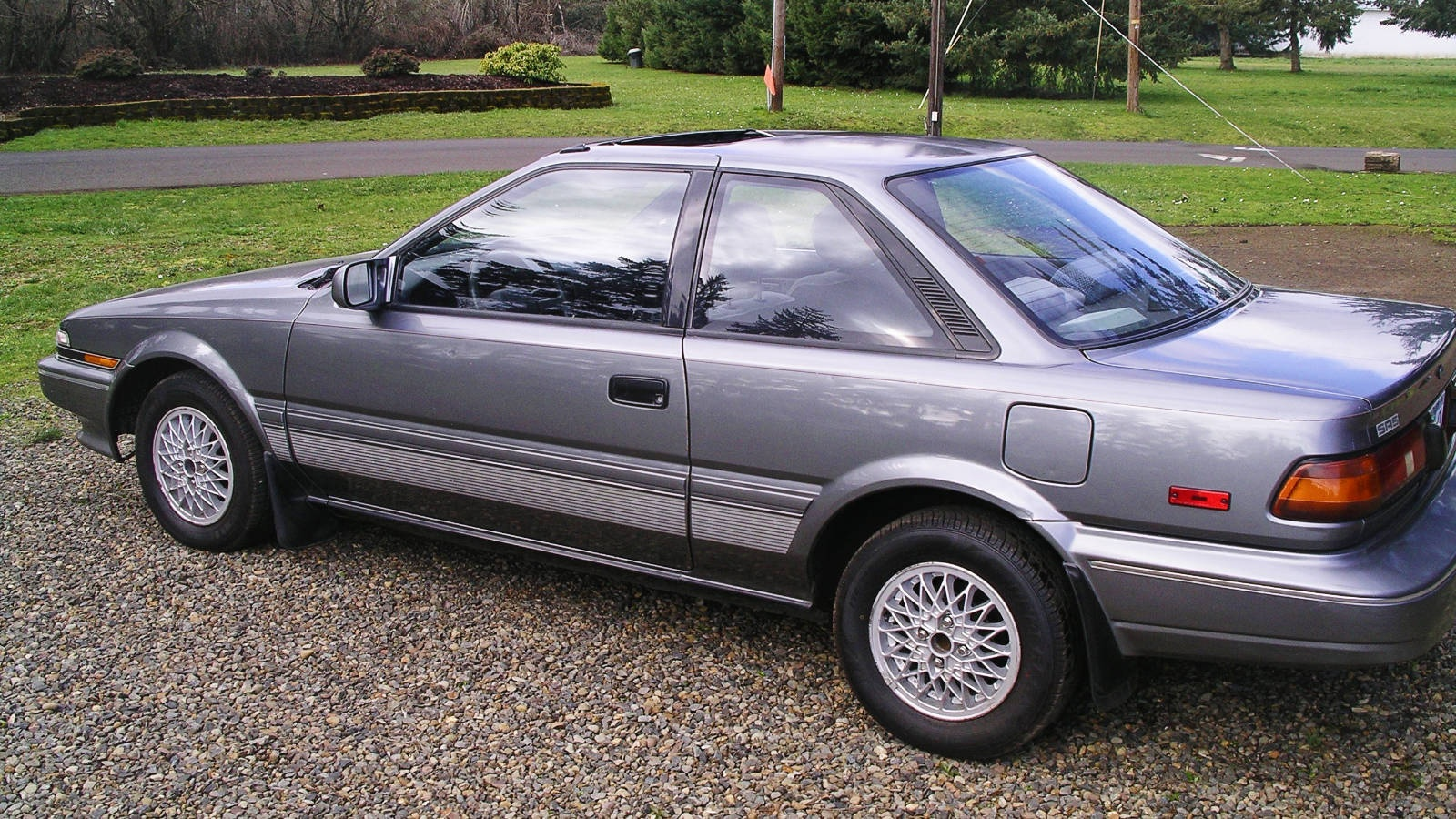 exclusive 1990 toyota corolla sr5 coupe for 1 500. Black Bedroom Furniture Sets. Home Design Ideas