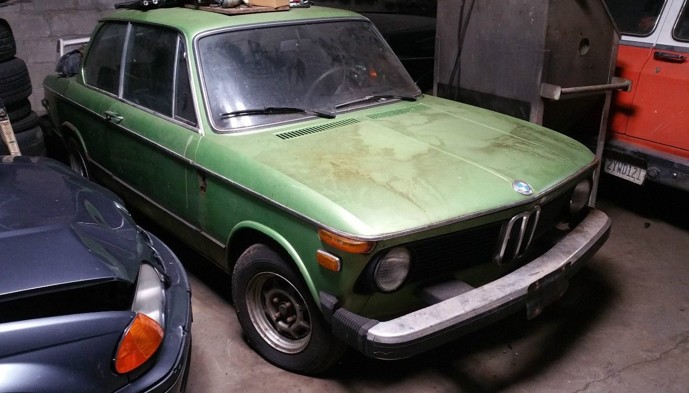 Terrific In Taiga 1974 Bmw 2002 Tii