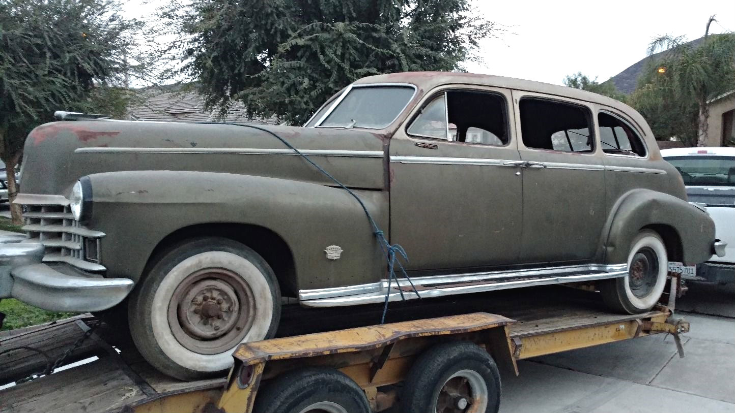 Cadillac Fleetwood For Sale >> Rough Interior Survivor: 1949 Cadillac Fleetwood Series 75