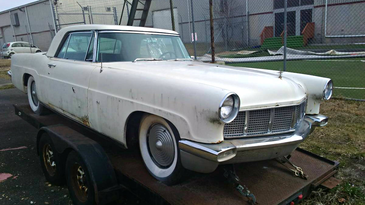 Car Auctions In Maryland >> Classy Project: 1956 Continental Mark II