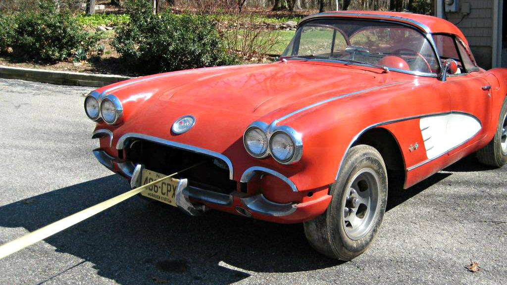 41 Year Barn Nap: 1960 Chevrolet Corvette