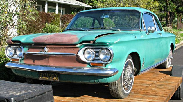 Rear-Engine Turbo: 1963 Chevrolet Covair Monza Spyder