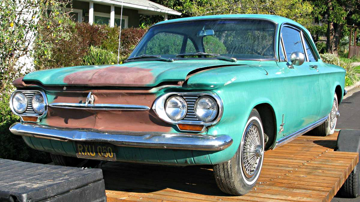 Chevrolet Corvair Monza Turbo on 1963 Corvair Monza Spyder Turbo