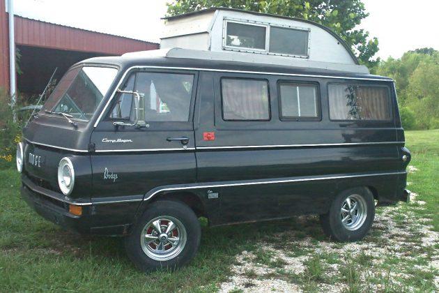Camp Ready: 1966 Dodge A100 Camper
