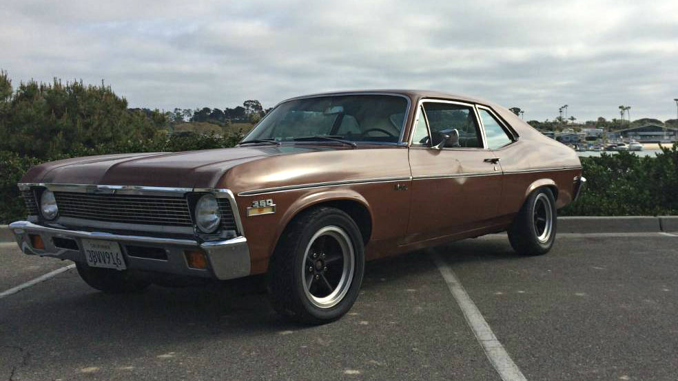 Two Owner Survivor: 1972 Chevrolet Nova