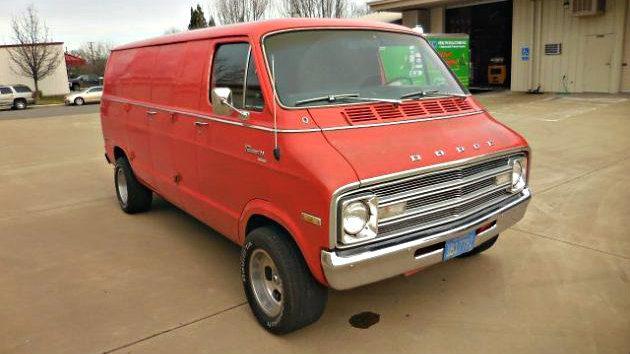 One Owner Californian: 1976 Dodge Tradesman