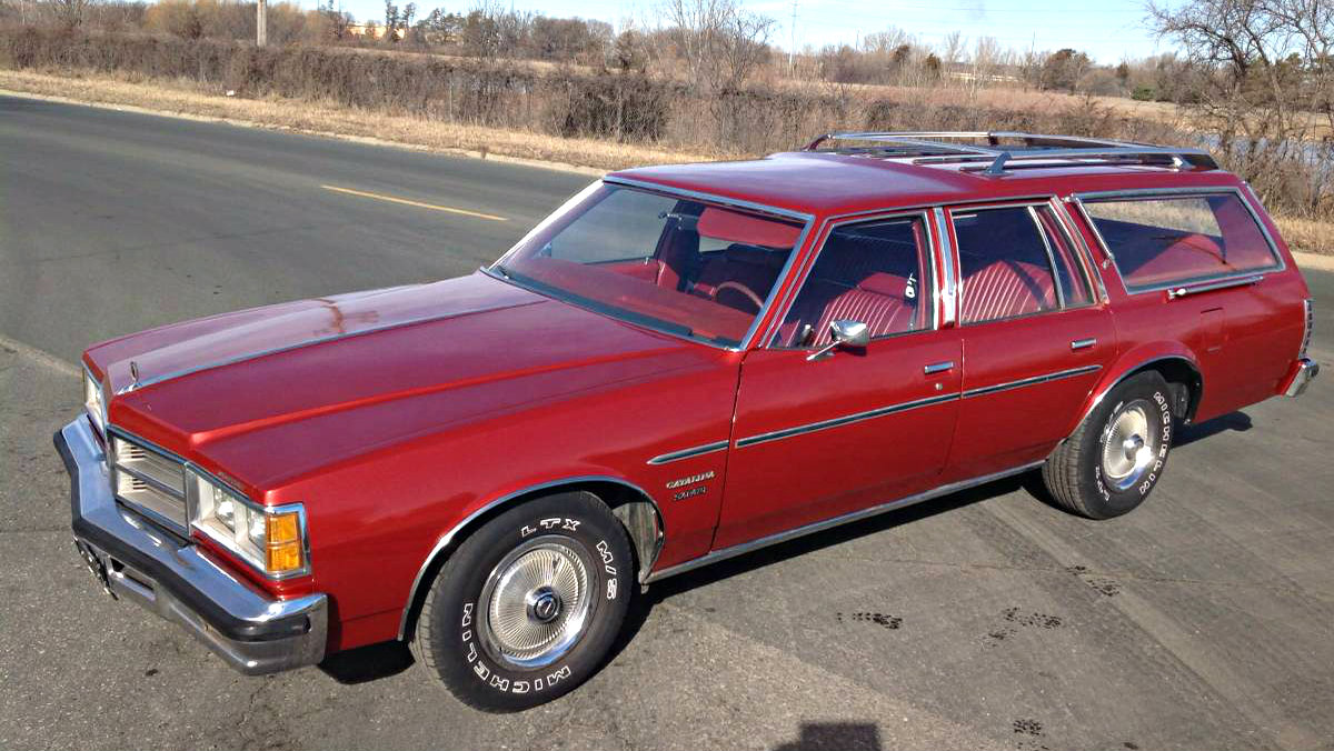 Truckster Survivor 1977 Pontiac Catalina Safari