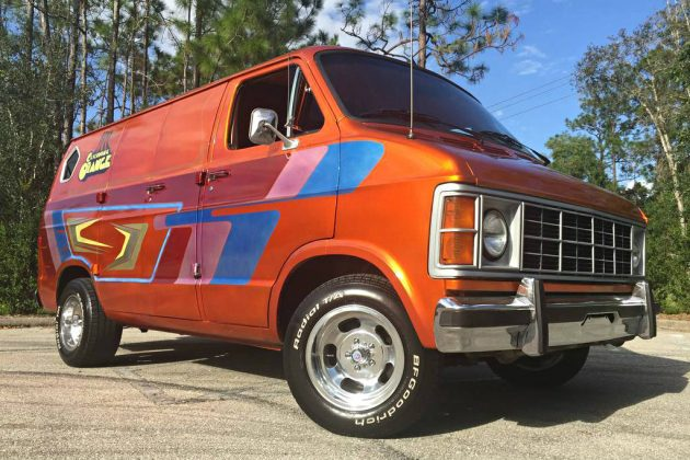 Clockwork-ed Van: 1983 Dodge Ram 150