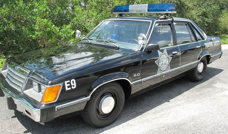 Four Door Mustang 1984 Ford Ltd 5 0 Cop Car