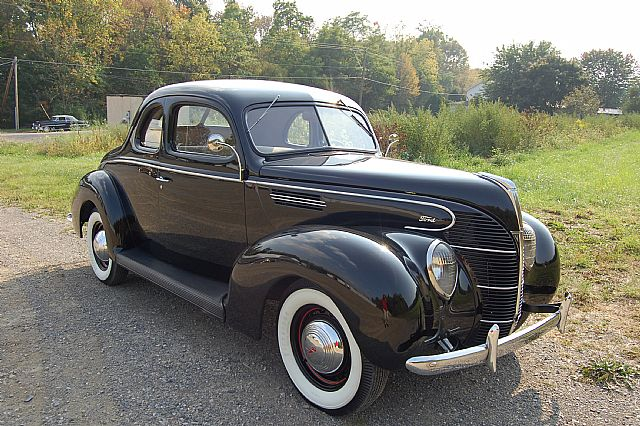 EXCLUSIVE 1939 Ford Standard Coupe Project