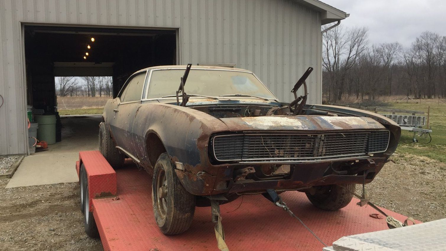 Possible Z 28 1968 Chevrolet Camaro Rs Chevy Project Car