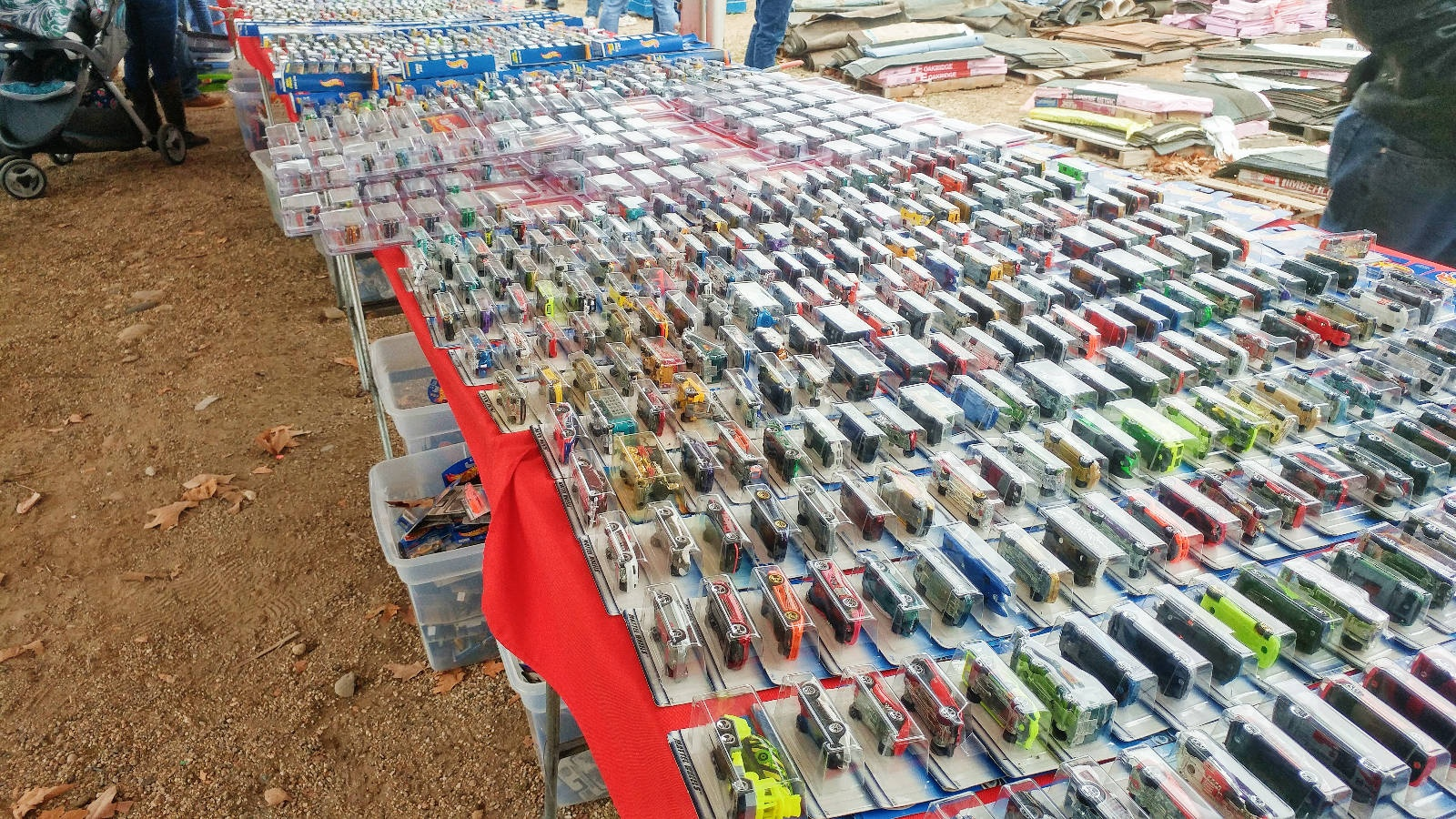 10 000 Hot Wheels At Estate Sale