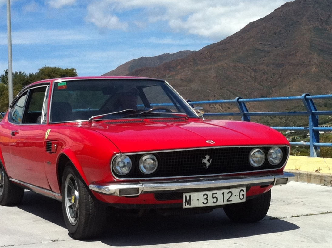 ferrari engined 1968 fiat dino coupe. Black Bedroom Furniture Sets. Home Design Ideas