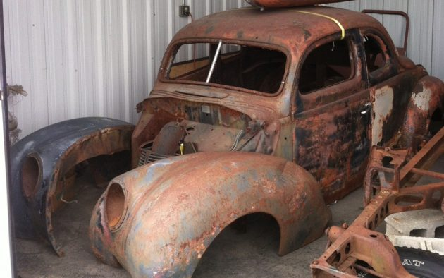 EXCLUSIVE: 1939 Ford Standard Coupe Project