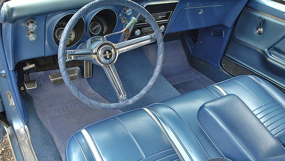 1967 Mustang Front Bench Seat