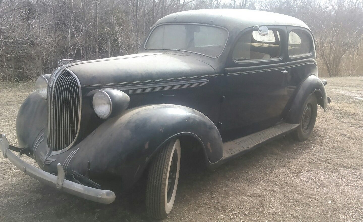 Old Chevy Cars >> Dusty Dust: 1938 Plymouth 2 Door