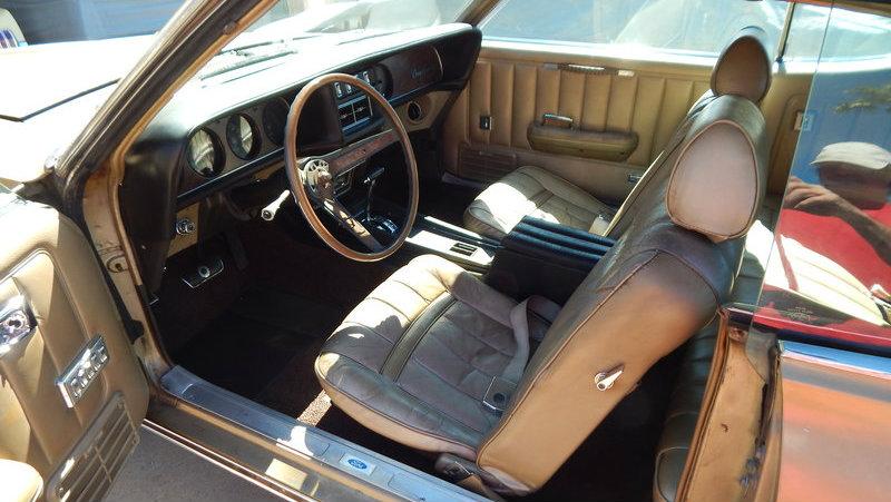 Golden cat clean 1969 mercury cougar xr7 for 1969 mercury cougar interior parts
