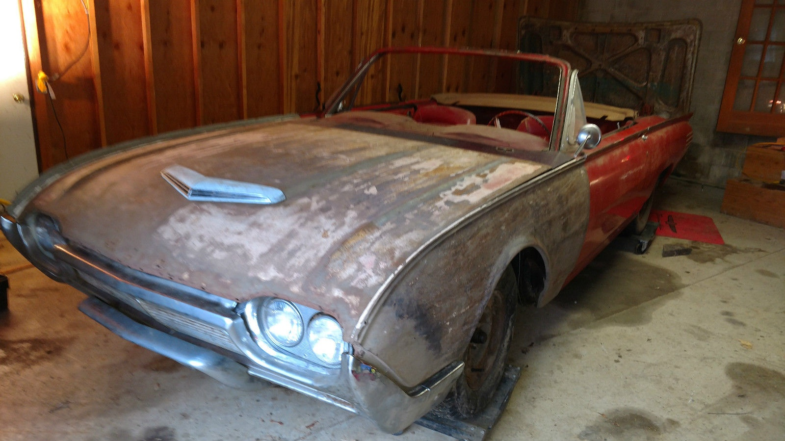 Unfinished Project: 1961 Ford Thunderbird Convertible