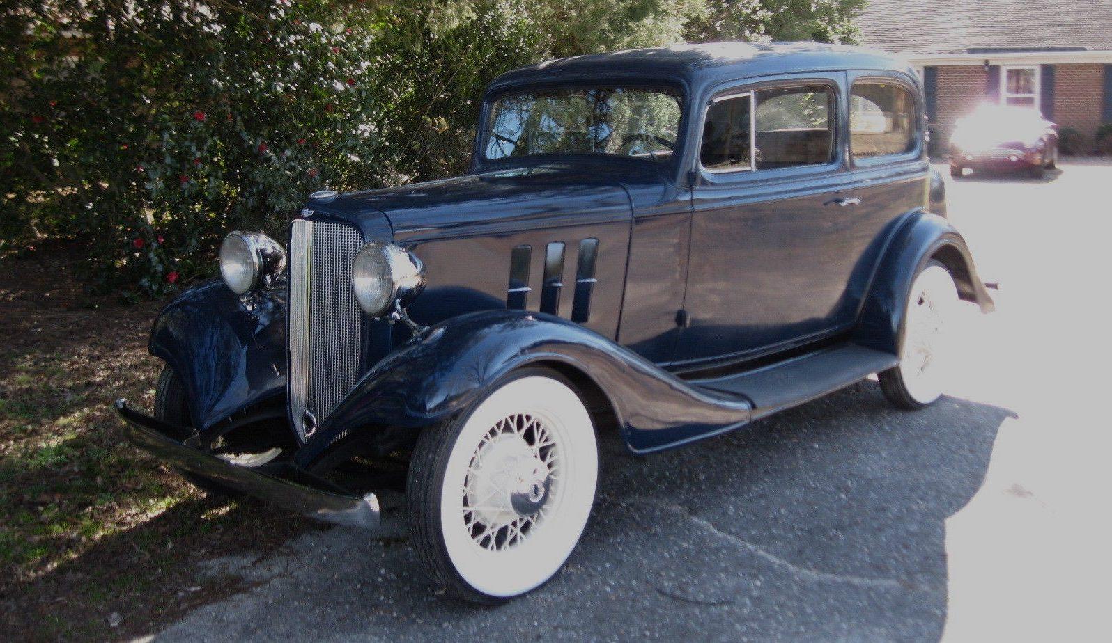 Master Or Eagle: 1933 Chevrolet Sedan
