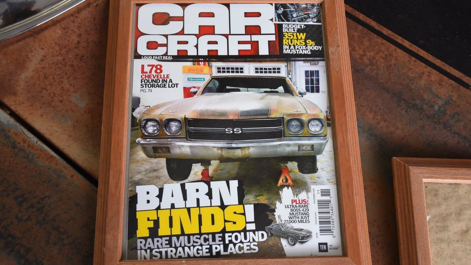 As You Can See The Seller Wasnt Kidding It Was On Cover Of Magazine Apparently This Car Languished In A Storage Lot California For Many