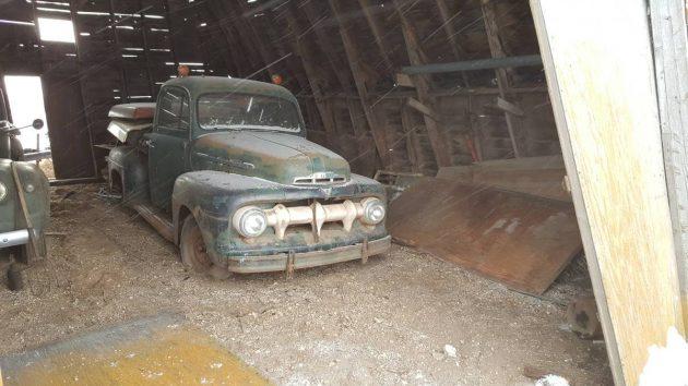 True Barn Find 1951 Ford F1 Pickup
